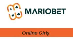 Mariobet Online Giriş
